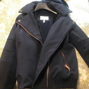 Bcbgeneration blue hooded jacket size S